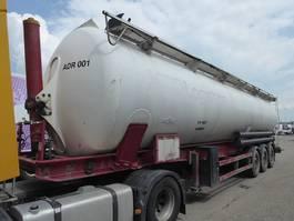 silo oplegger Spitzer SK2465 CAL ADR ,Rieselguter,Granulat,Silo,Cistern,65m3 2002
