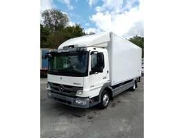 bakwagen vrachtwagen > 7.5 t Mercedes Benz Atego 816 halve laadklep D'hollandia als nieuw/euro 5! 2011