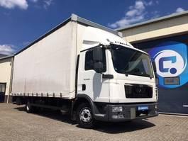 bakwagen vrachtwagen MAN TGL 8.220 4x2 BL Euro 5 Schuifzeilen-Schiebeplane 2013