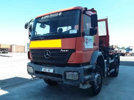 kipper vrachtwagen > 7.5 t Mercedes Benz Axor 1829 4x4 palfinger accidented 2007