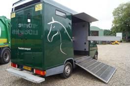 paardenbakwagen Mercedes-Benz 2-paards vrachtwagen 2001
