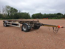 container chassis aanhanger Renders RAC 10.10NA  CONTAINER TRAILER 2000