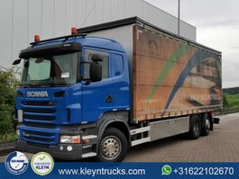 schuifzeil vrachtwagen Scania R440 manual gearbox,6x2*4 2011