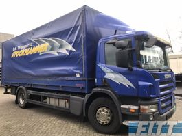 huifzeil vrachtwagen Scania P230 MANUAL - huif met klep 2010