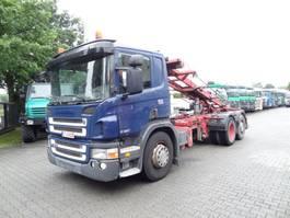 wissellaadbaksysteem vrachtwagen Scania P310 6X2*4 SEILABROLLER 2008