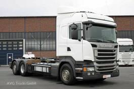 containersysteem vrachtwagen Scania R 410 6X2*4 Retarder Lenkachse HIAB Multilift 2015
