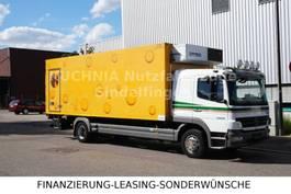 koelwagen vrachtwagen Mercedes Benz Atego 1229L L-Haus Tiefkühlkoffer 6,9m LBW TOP 2009