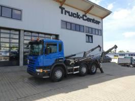containersysteem vrachtwagen Scania P 400 6x2 WAAGE Gergen Lift + Lenk VLA