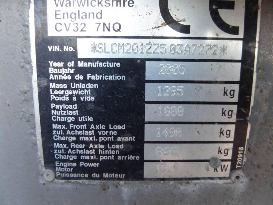 wieldumper Thwaites 1 ton Hi Tip 2005