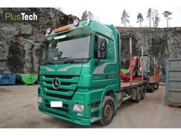 houttransporter vrachtwagen Mercedes Benz 2660 2009