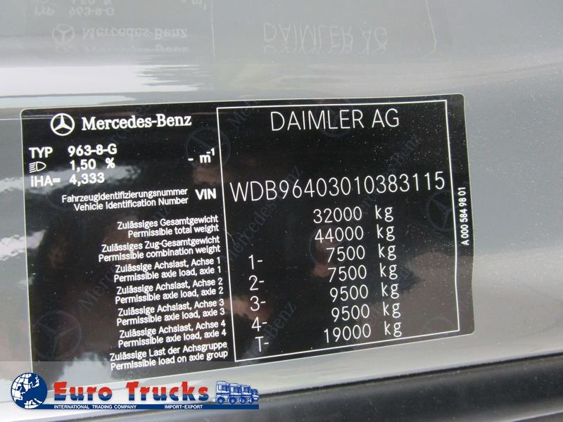 Mercedes Benz - Arocs 3251 8x4 New 7