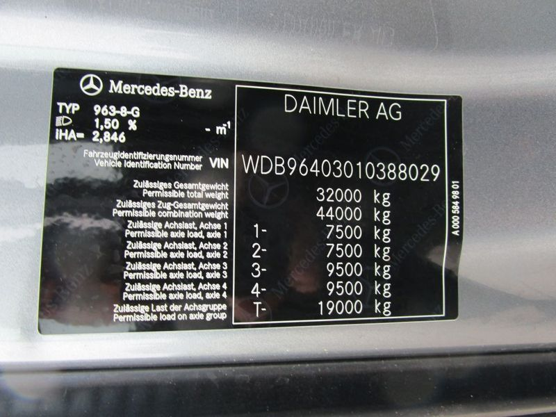 Mercedes Benz - Arocs 3240 8x4 New 7