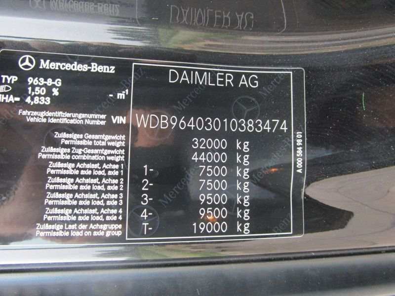 Mercedes-Benz - Arocs 3263 8x4 New 9