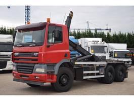 containersysteem vrachtwagen DAF CF85-430 6X4  CONTAINER SISTEEM - CONTAINER HAAKSISTEEM -SYSTEME CONTENAIR 2006