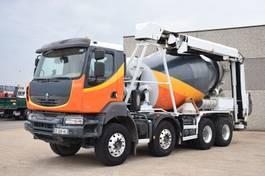 betonmixer vrachtwagen Renault KERAX 410 DXI    TAPIS 13 METER 2009