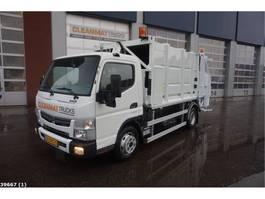 vuilniswagen vrachtwagen Fuso Canter 7C15 7m3 Geesink 2016