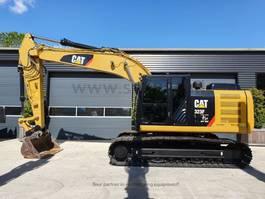 rupsgraafmachine Caterpillar 323FL  machine like new 2017