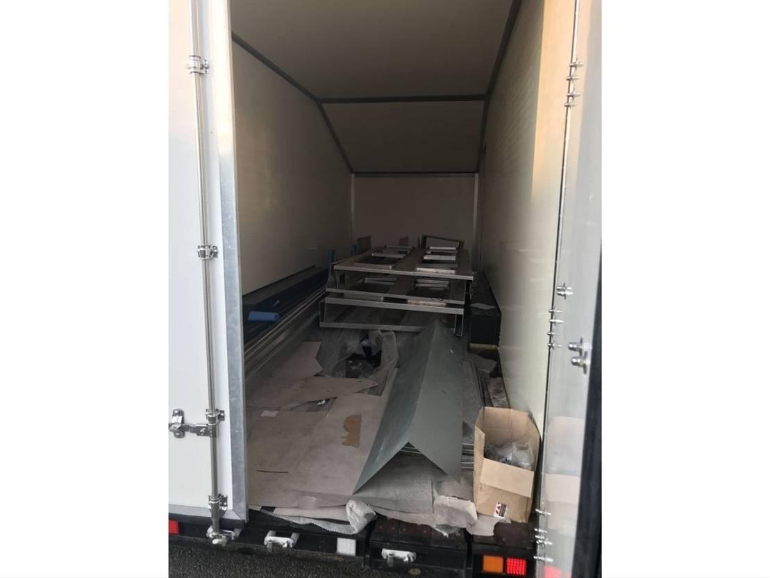 autotransporter aanhangwagen Wagenaar WA 1300 3 assige gesloten aanhangwagen, autospor 2019