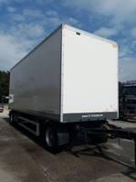 gesloten opbouw aanhanger Lecitrailer Gesloten trailer met roldeur en schijfremmen