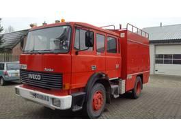 brandweerwagen vrachtwagen Iveco 165-240 HP 1986