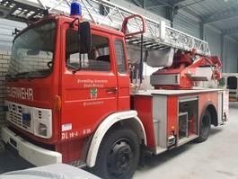 brandweerwagen vrachtwagen DAF 1300. 1986