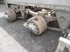 Achteras vrachtwagen onderdeel SAF 2 assen bladgeveerd compleet onderstel
