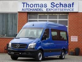 minivan - personenbus Mercedes Benz Sprinter 213 Cdi 9 Sitze Schiebetür Klima Euro 6 2014