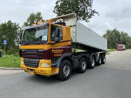 kipper vrachtwagen > 7.5 t DAF CF 85.410 STEEL SUSPENTION 2009