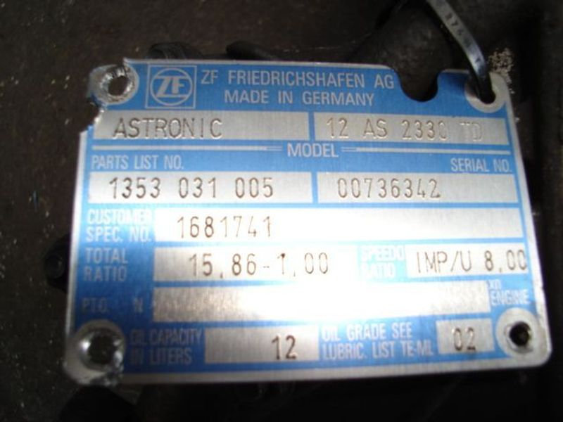ZF - daf/wabco/zf/modulator /astronic/bekrachtiger astronic 2