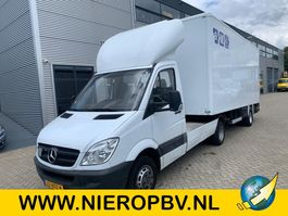 be trekker bedrijfswagen Mercedes-Benz 515cdi be combi inc trailer laadklep 2007
