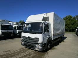 huifzeil bedrijfswagen Mercedes-Benz ATEGO IV 818 L Pritsche/Pl. 6,10 m KLIMA*LUFT HA 2016