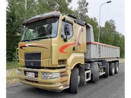 kipper vrachtwagen > 7.5 t Sisu R500 2006