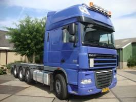 containersysteem vrachtwagen DAF xf 105 510pk superspace,4 asser,liftas 2012