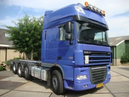chassis cabine vrachtwagen DAF FAK XF510pk superspace 8x2 chassis,liftas,20 FOOD CONTAINER SYSTEEM 2012