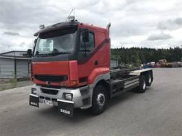 containersysteem vrachtwagen Sisu E12-480 6x4-4650 katkeavalla telivedolla 2000