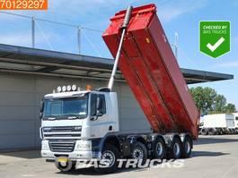 kipper vrachtwagen > 7.5 t DAF CF85.410 10X4 Manual Liftachse BigAxle Steelsuspension Euro 5 2008