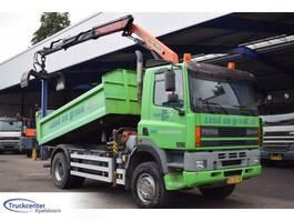 kipper vrachtwagen > 7.5 t DAF CF 320, 4x4, Steel springs, 2 Way tipper, Palfinger PK 9501, Truckcenter... 2001