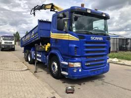 kipper vrachtwagen > 7.5 t Scania R 270 2007