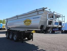 kipper oplegger Meiller MHPS 12/27 NOSS1 25m³ Stahl/Stahl SAF Lift neu 2020