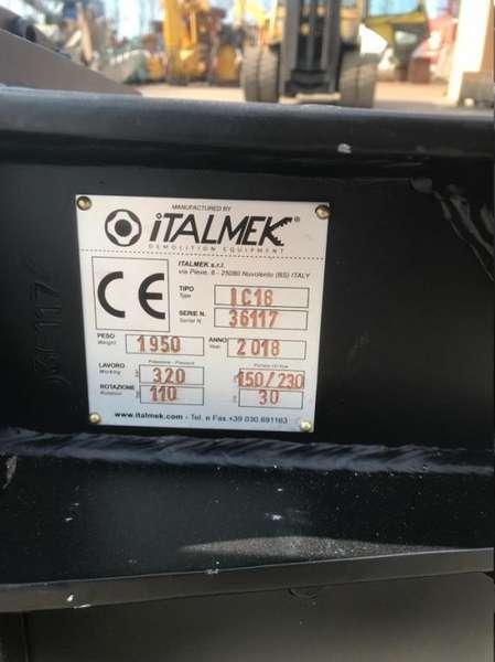 Italmek - IC 18 steel shear 6