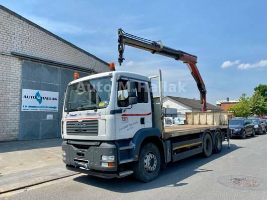 open laadbak vrachtwagen MAN TGA 33.350 6x4 Blatt/Manual Palfinger 15500