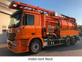 kolkenzuiger vrachtwagen Mercedes-Benz Actros 2544/Müller/Vacummaster GGVS/ADR/15500L