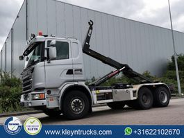 containersysteem vrachtwagen Scania G440 pde 6x4 hiab xr21 2013