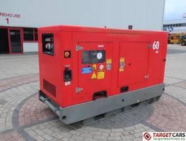 standaard aggregaat Genelec GRFW-60 T5 60KVA Diesel Generator 400V/230V 2014