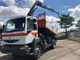 kipper vrachtwagen > 7.5 t Renault Midlum 4x4 2006