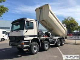 kipper vrachtwagen > 7.5 t Mercedes Benz Actros 4140 Full Steel - Manual - Meiller - Big axle 2000