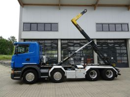 containersysteem vrachtwagen Scania G 480 8x4 Palfinger T22A Knickarm EURO 6