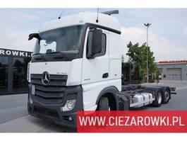 chassis cabine vrachtwagen Mercedes Benz Actros 2542 , E6 , 6x2 ,Low Deck , BDF,   retarder , chassis 7,6 2018