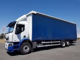 schuifzeil vrachtwagen Renault LANDER 340dxi.26 6x2 S euro 5 2009