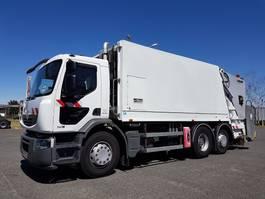 vuilniswagen vrachtwagen Renault PREMIUM 340dfxi.26 6x2/4 S B.O.M. 21m3 2010
